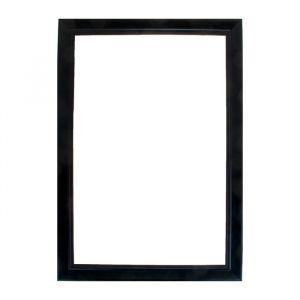Рама для зеркал и картин из дерева, 40 х 60 х 4 см, цвет чёрный