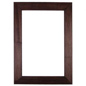 Рама для зеркал и картин дерево 40 х 60 х 7.5 см, липа, брошировка, венге