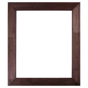 Рама для зеркал и картин дерево 50 х 60 х 7.5 см, липа, брошировка, венге