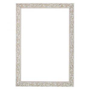 Рама для зеркал и картин из дерева, 59,4 х 84,1 х 4 см, цвет бело-золотой