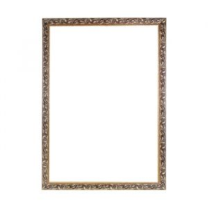 Рама для зеркал и картин из дерева, 59,4 х 84,1 х 4 см, золотая