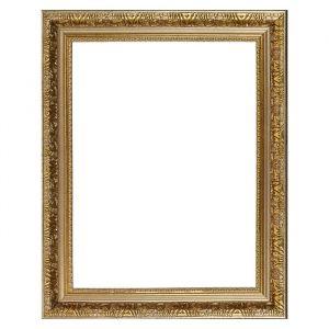 Рама для зеркал и картин, пластиковая, 30 х 40, ширина 3 см, Delia, золото