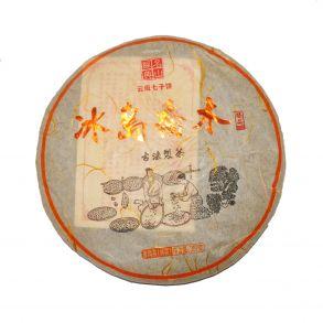 Шу пуэр блин Баньчжан Сяо Му Шу, 357 гр