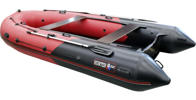 Надувная лодка Хантер 420 ПРО
