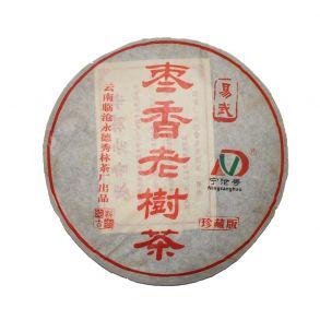 Шу пуэр блин Цзао Сян Лао Шу, 357 гр