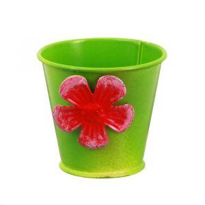 Горшок малый «Цветочек», цвет зелёный
