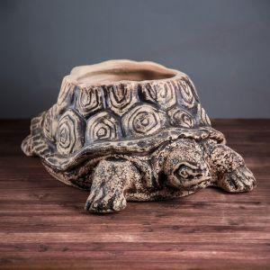 "Кашпо ""Черепаха"", шамот, 18 л"