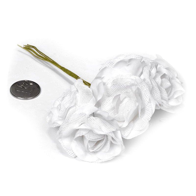 Цветы для декора тканевые  (MG FA72-04)