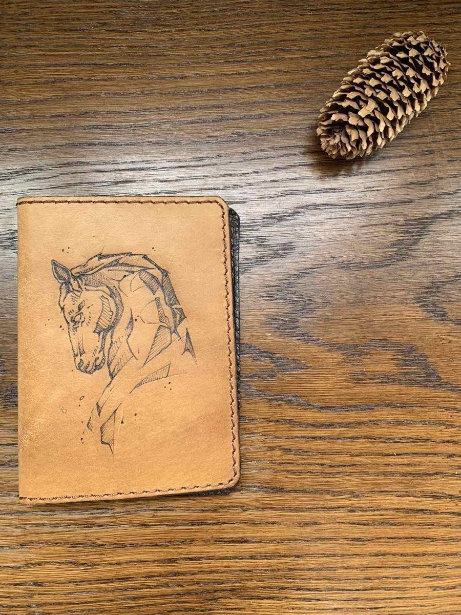 Обложка на паспорт Лошадь