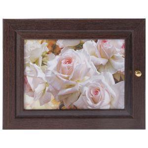 """Ключница """"Белые розы"""" венге 19х24 см 2852713"""