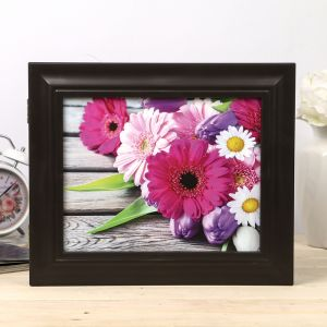 "Ключница ""Яркие цветы"" венге 26х31х4,5 см 4339622"