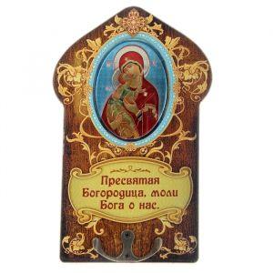 """Ключница """"Икона Божьей Матери Владимирская""""   187455"""