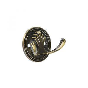 Крючок мебельный, KM223AB, цвет бронза   3609933