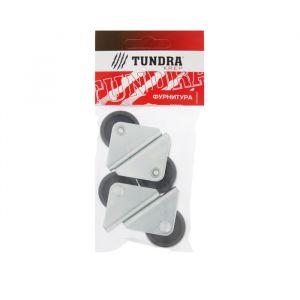 Ролик выкатной TUNDRA krep, H=34 мм, покрытие цинк, 4 шт.   4304179