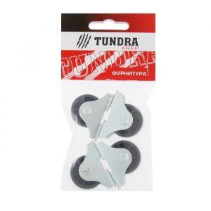 Ролик опорный №493.2 TUNDRA krep, малый, покрытие цинк, 4 шт.   4304180
