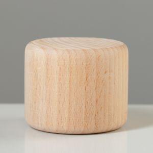 """Ножка мебельная """"Цилиндр"""", тип 2, некрашеная, D-56 мм, H-45 мм"""