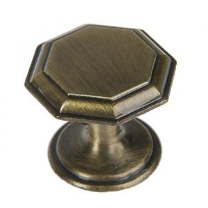 Ручка кнопка PK034AB, цвет бронза   3609958
