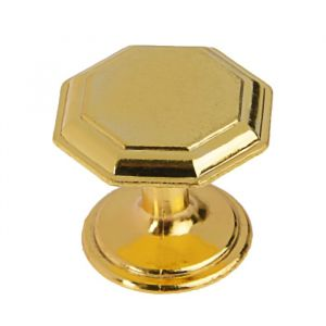 Ручка кнопка PK034GP, цвет золото   3609957