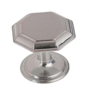 Ручка кнопка PK034SN, цвет матовый никель   3609960