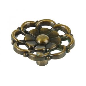 Ручка кнопка РК011AB, цвет бронза   3488131