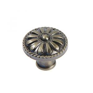 Ручка кнопка РК112, цвет бронза   4647193