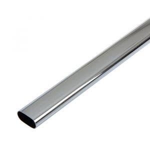 Штанга стальная, овальная, d=15/30 мм, 3000х0.7 мм, полированная  3844399
