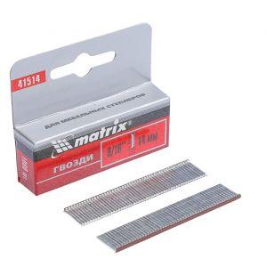 Гвозди для мебельного степлера MATRIX MASTER, со шляпкой, 14 мм, тип 300, 1000 шт.   2992507