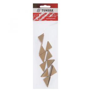 Уголок монтажный TUNDRA krep, пластиковый, цвет бук,  набор 10 шт 4856863
