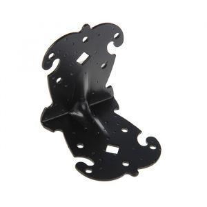 Уголок фигурный УКФ 95-95-80-У, цвет черный матовый   3648058