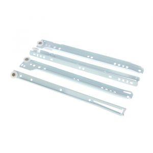 Роликовые направляющие, L=300 мм, до 12 кг, белые, 4 шт. 1367888