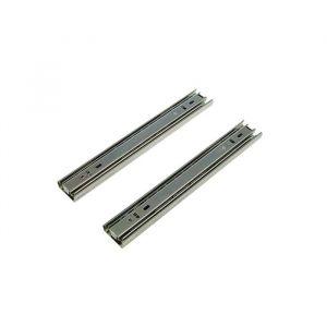 Шариковые направляющие полного выдвижения BBS-ZNW , L=250 мм, Н=35 мм, 2 шт. в наборе 2132843