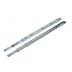 Шариковые направляющие полного выдвижения, L=550 мм, Н=45 мм, 2 шт. в наборе   4328135