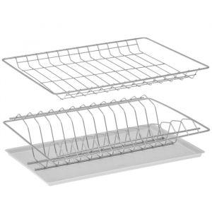 Комплект посудосушителей с поддоном 36,5х25,6 см, для шкафа 40 см, цвет хром