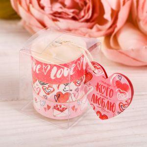 Набор чайных арома-свечей Love, 3 шт