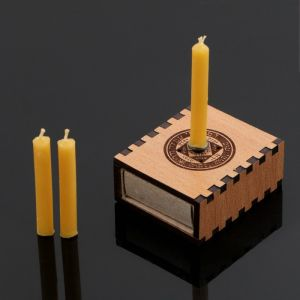 """Набор ларец желаний """"Успех в начинаниях"""" со свечками, 5,2х4,5х2 см 2343131"""
