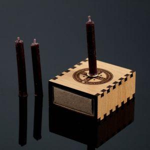"Набор ларец желаний ""Щит от врагов"" со свечками, 5,2х4,5х2 см 2343113"