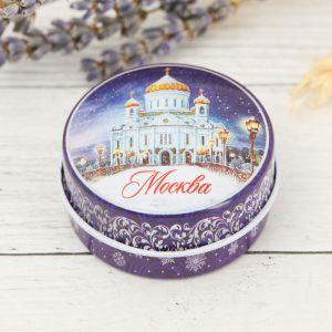 Свеча в баночке «Москва. Храм Христа Спасителя»