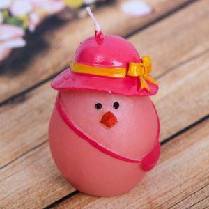 Свеча пасхальная «Курочка в шляпке»