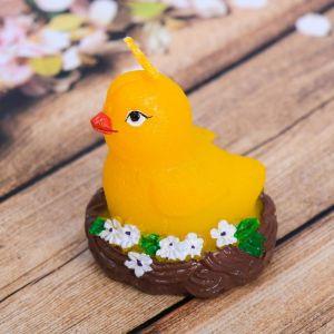 Свеча пасхальная «Цыплёнок в гнезде»
