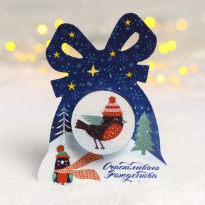 Рождественская свеча «Снегирь»