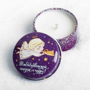 Свеча в баночке «Чудесный ангел»