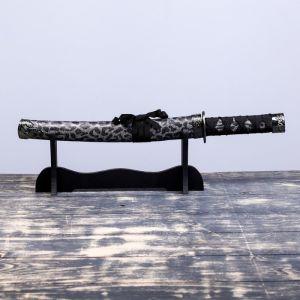 Сувенирное оружие «Катана», коричневые ножны под гепарда, 47см 505131