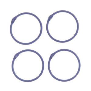 """Кольца для творчества (для фотоальбомов) """"Фиолетовое"""" набор 4 шт d=4,5 см 2587240"""
