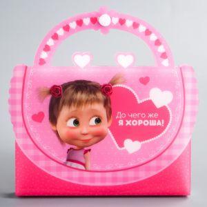 """Фотоальбом-сумочка на 36 фото """"До чего же я хороша!"""", Маша и медведь 2948043"""