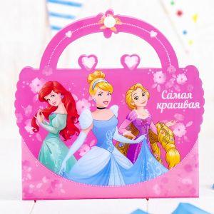 """Фотоальбом-сумочка на 36 фото """"Самая красивая"""", Принцессы 2948038"""