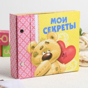 "Фотоальбом-шкатулка ""Мои секреты"" (на 10 фотографий)"