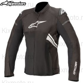 Куртка женская Alpinestars Stella T-GP Plus V3 Air, Черно-белая