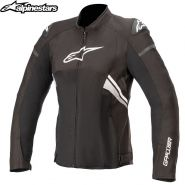 Куртка женская Alpinestars Stella T-GP Plus V3 Air, Черно-белая