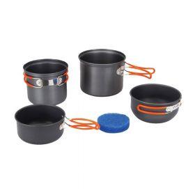 Набор котелков с крышками сковородками Tramp TRC-075