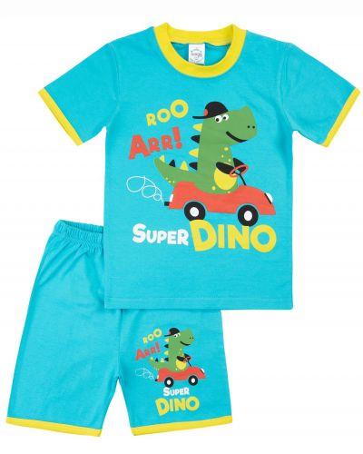 "Костюм для мальчика Bonito kids ""Dino"" светло-бирюзовый"